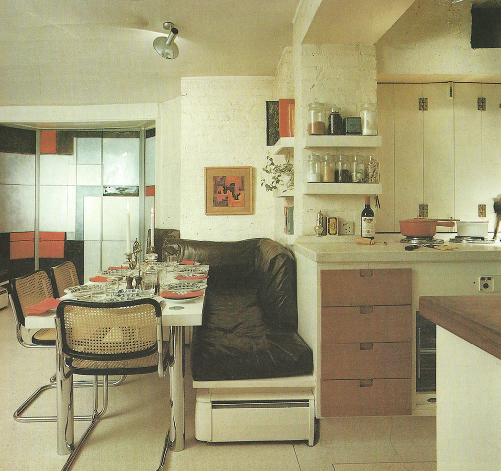 1980'S KITCHEN AND DINING