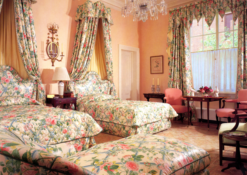 1980'S BEDROOM CHINTZ