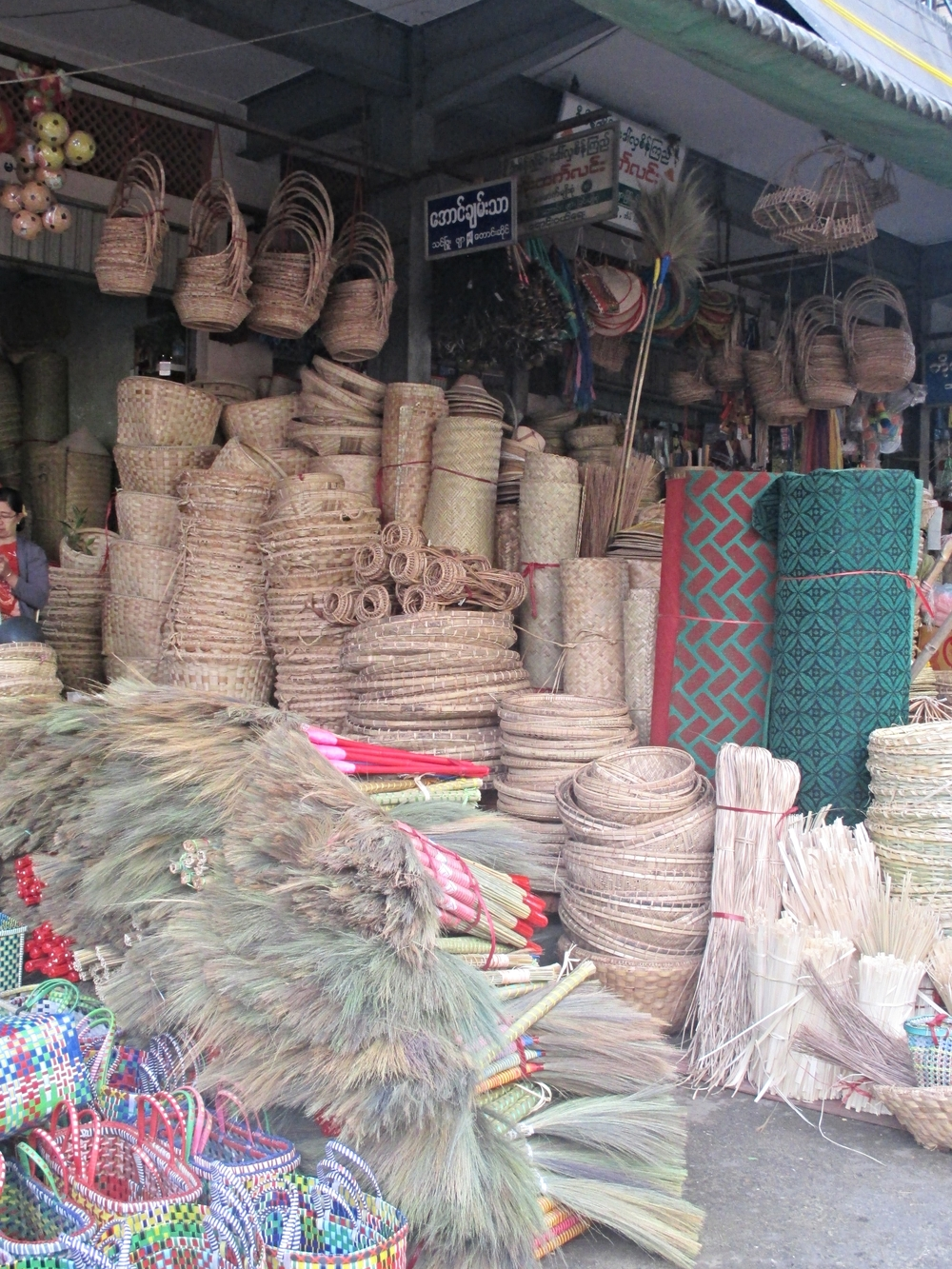 Baskets in Mandalay