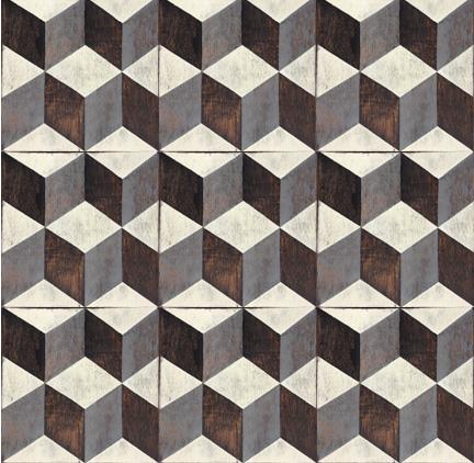 Tumbling Block Tile