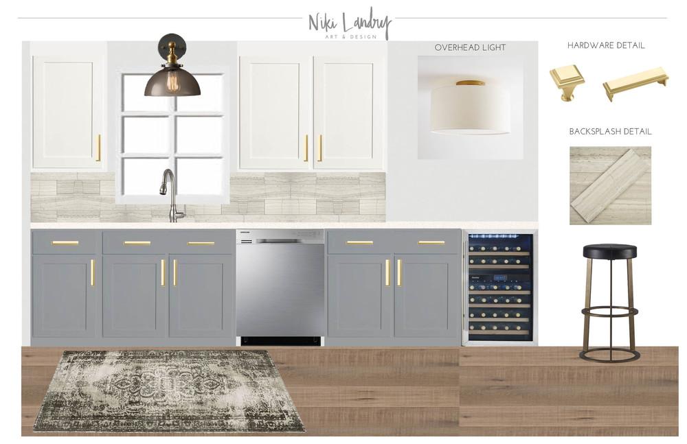 Kitchen Design Board