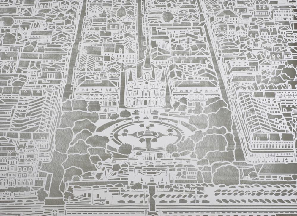 Jackson Square Paper Cut