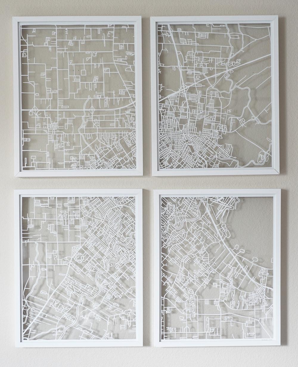 Lafayette Papercut