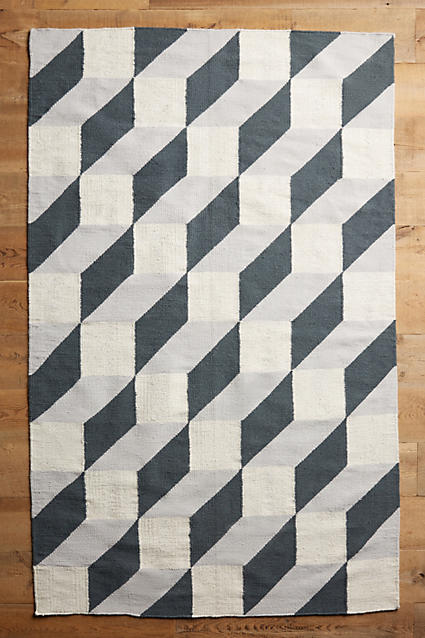 TUMBLING BLOCKS RUG