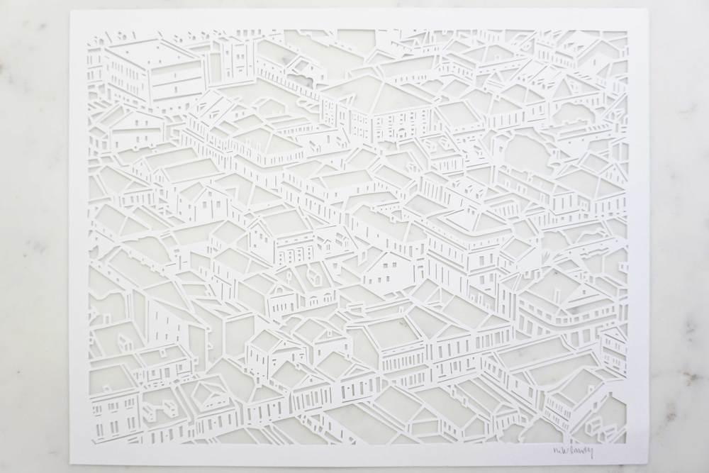 The Quarter | Paper Cutout