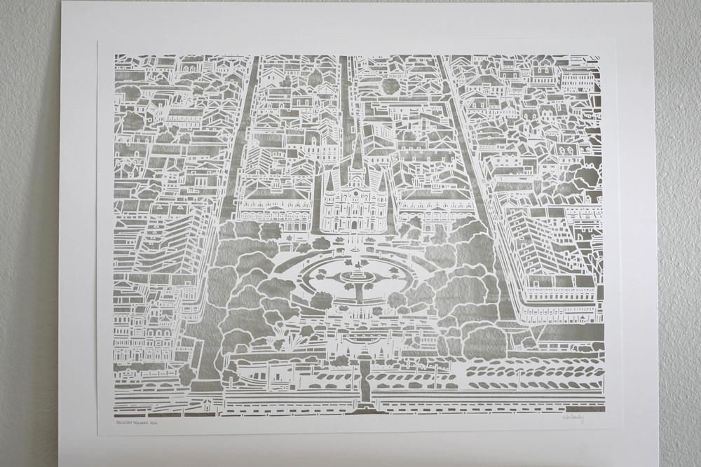 Jackson Square | Papercut Art