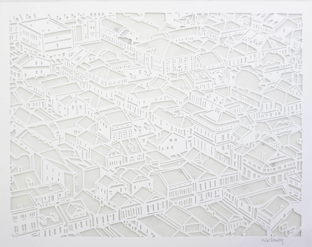 FRENCH QUARTER PAPERCUT