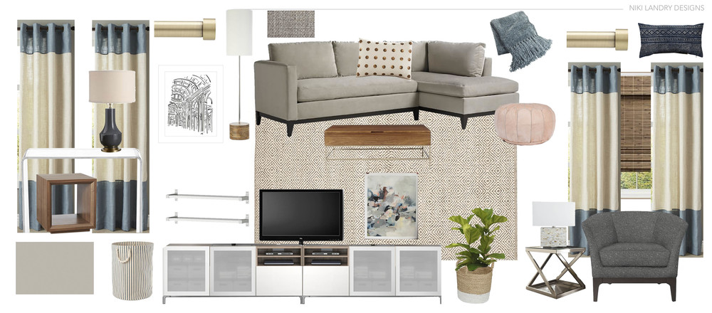 Copy of Living Room Design