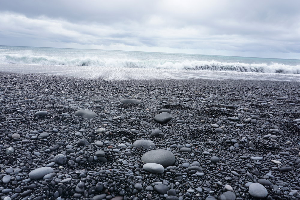 Reynisfjara- Black Pebble Beach