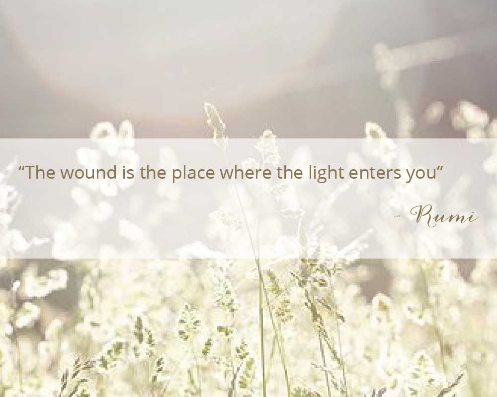 Healing quote my Rumi