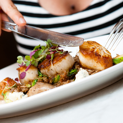 Seared Georges Bank Scallops