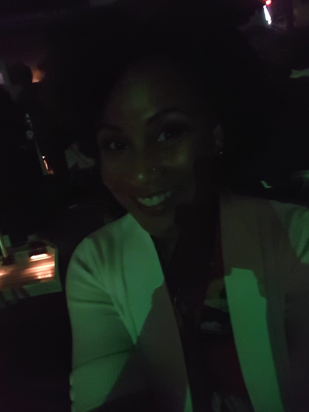 Happy Me at the concert!