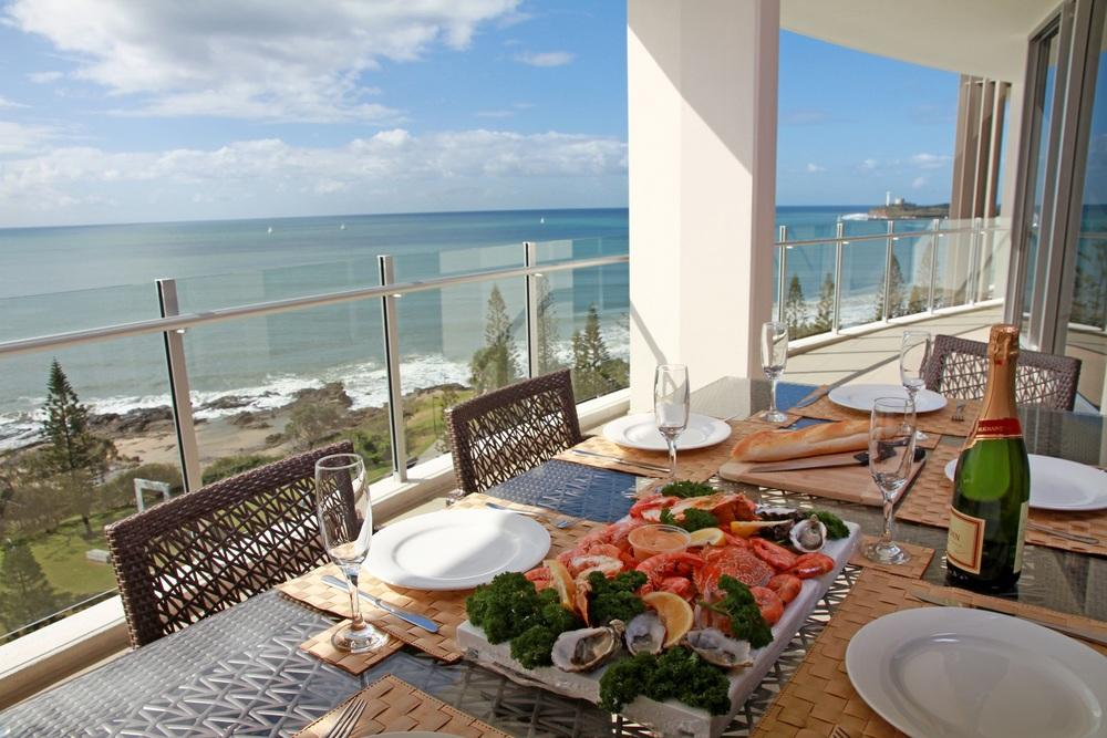 Fresh Seafood platter atOceans Mooloolaba