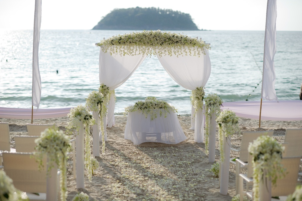 Boathouse by Montara wedding ceremony Kata Beach