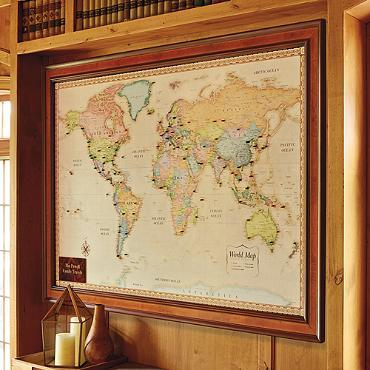 Recalled Cinmar World Magnetic Maps