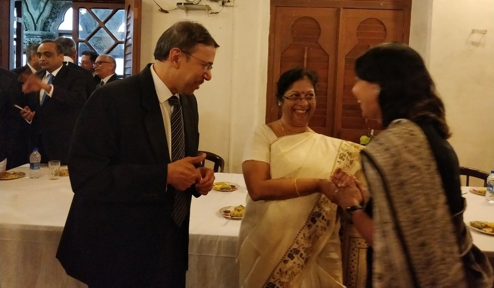 29/11/2017 - Farewell Tea-Party For Chief Justice Smt. Manjula Chellur
