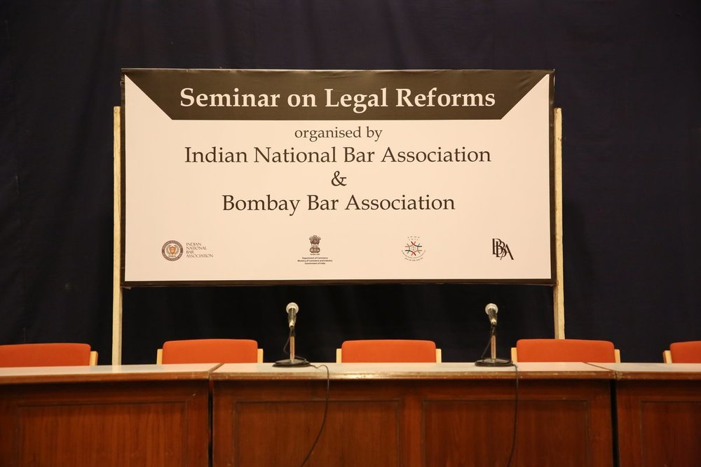 17/03/2018 - Workshop on Legal Reforms in Arbitration and Liberalisation of Legal Services in India