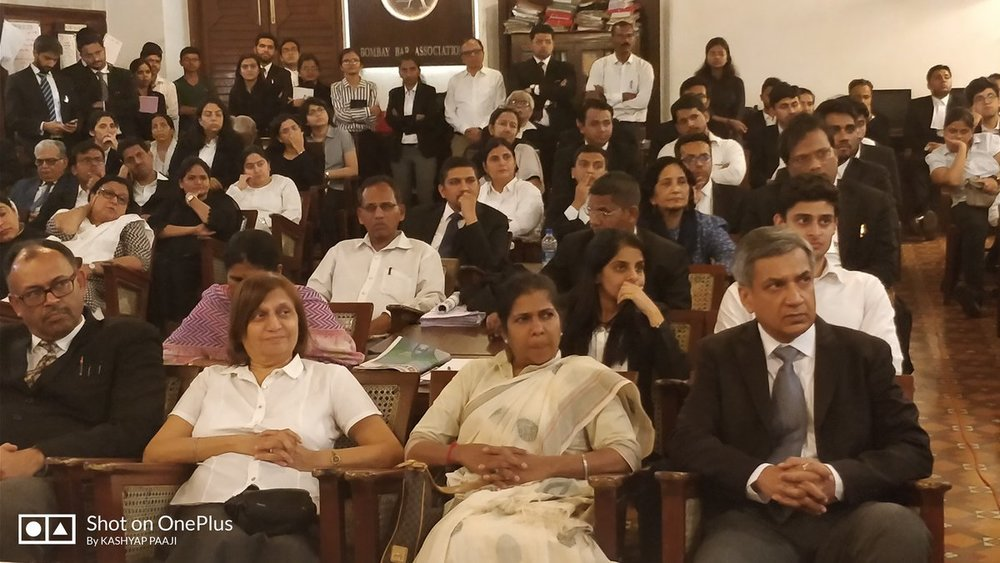 18/01/2018 - Workshop on Expectations from Lawyers for Expeditious Disposal by Honble Mr. Justice K. R. Shriram