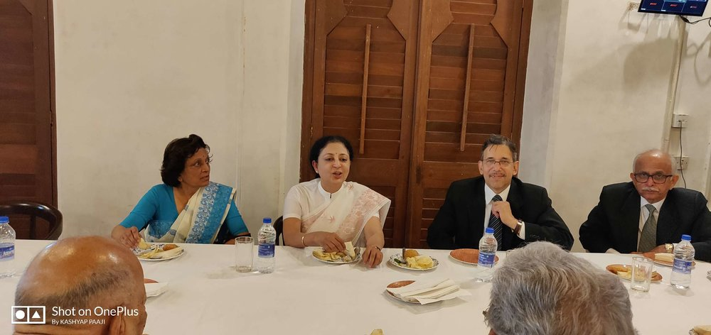 06/08/2018 - Farewell Tea Party for Hon'ble Acting Chief Justice Smt. V. K. Tahilramani