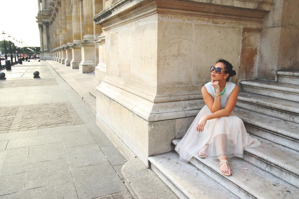La Parisienne At the Louvre