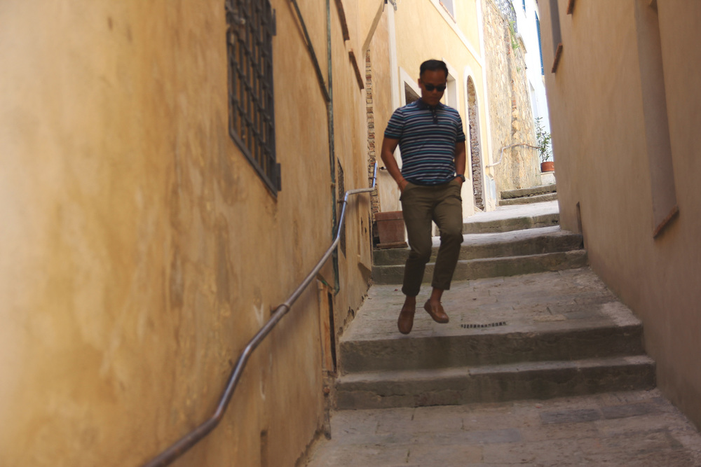 Traversing the alleys Walkways of Montepulciano