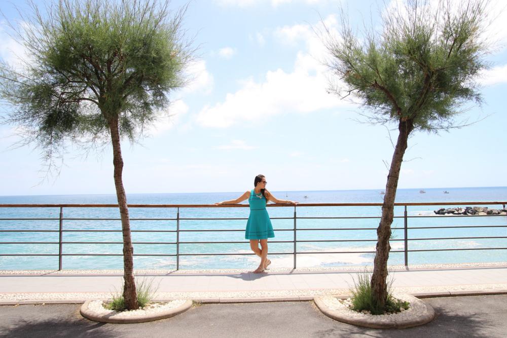 Vernazza, Italy On the Esplanade in Cinque Terre