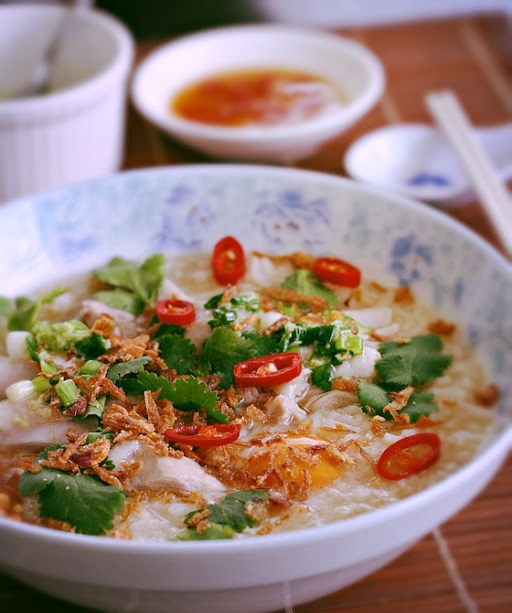 Thai Congee A perfect breakfast to kick your senses into gear for the day