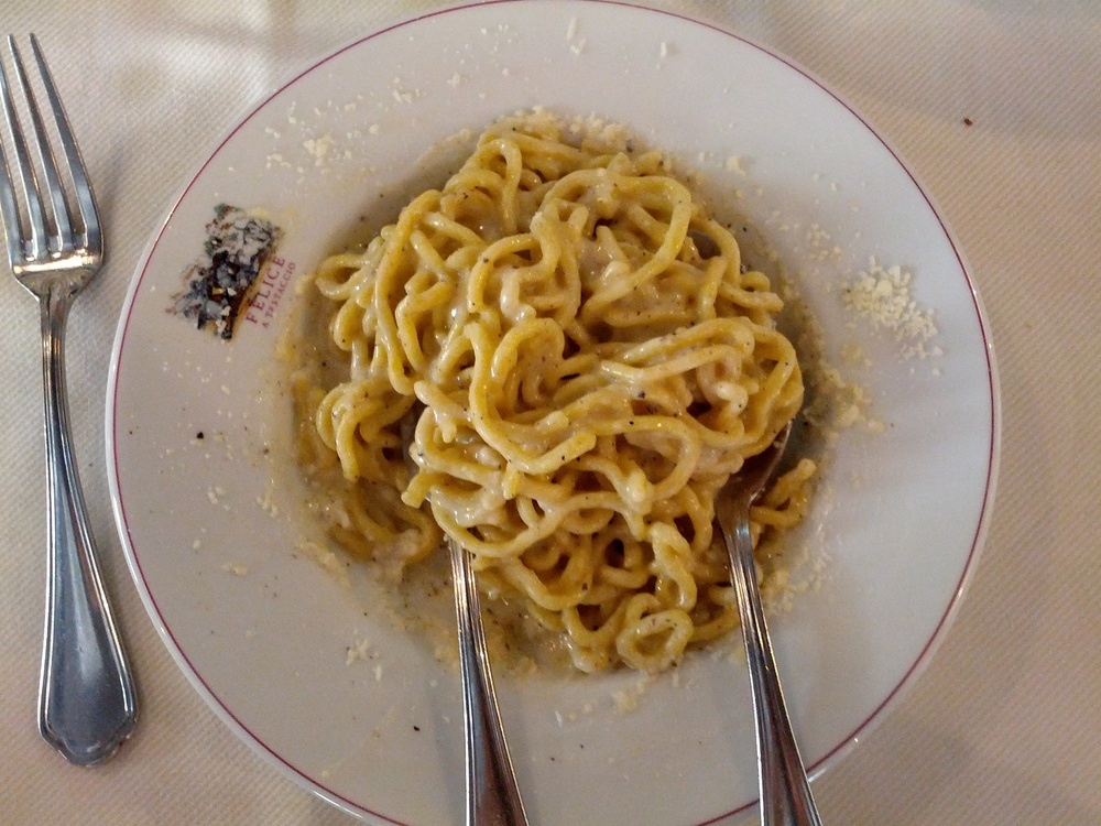 Rome Felice a Testaccio makes an incredible Cacio e Pepe