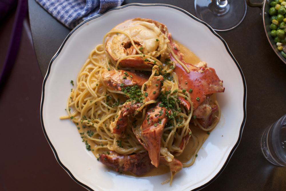 Montreal Lobster Hommard Spaghetti at Joe Beef