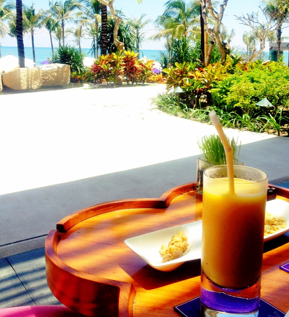 The W Hotel Seminyak Bali Poolside