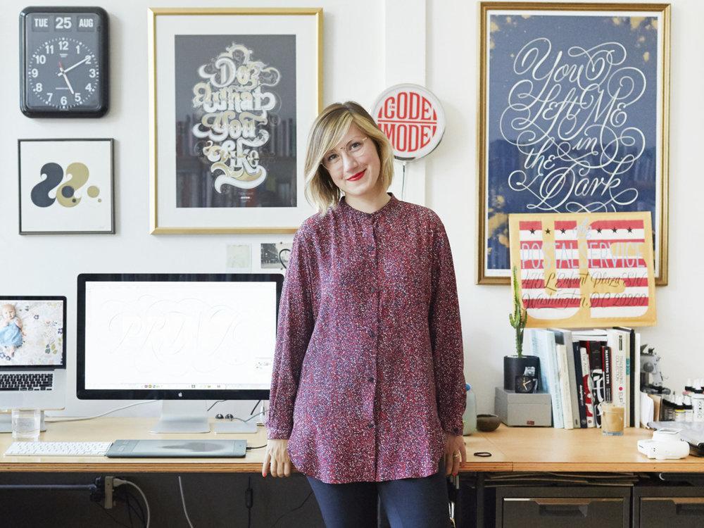 Jessica Hische for San Francisco Magazine