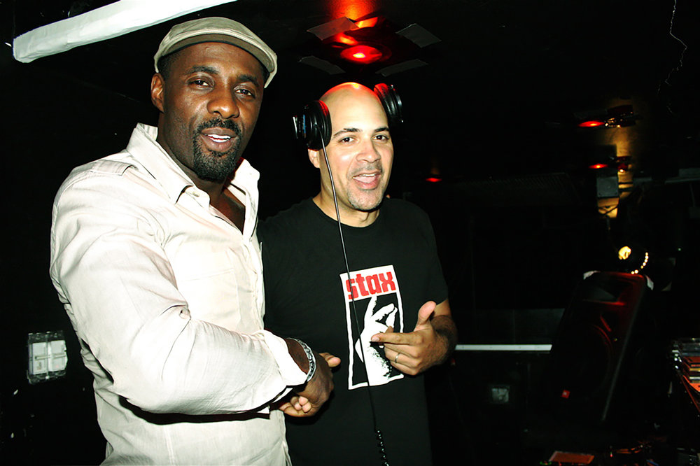 L-R:  Idris Elba  and Garth Trinidad