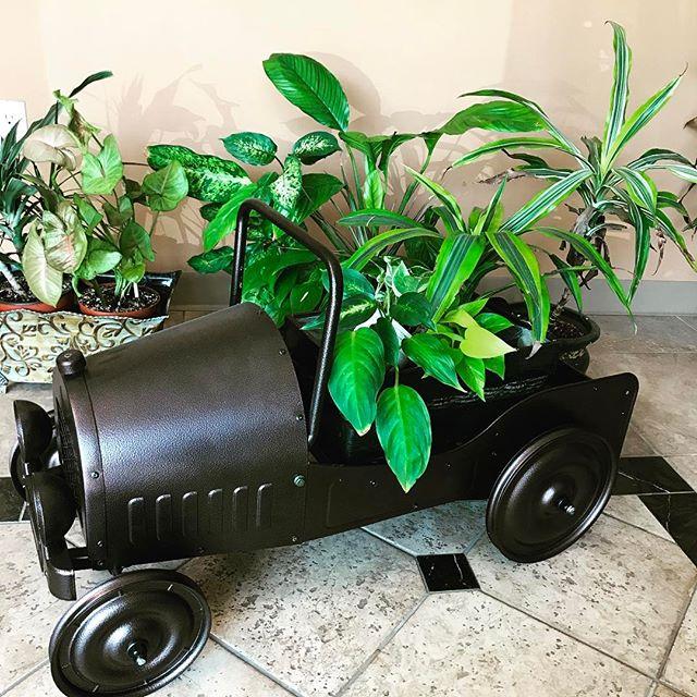 Dexton Vintage Car Planter #planters #dextonkids #plantstagram #garden #decor
