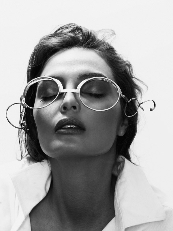 Asymmetric Curve Line Glasses