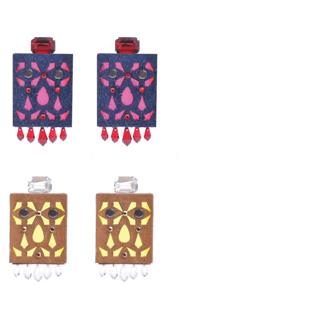Cathedral Matchbox Earrings
