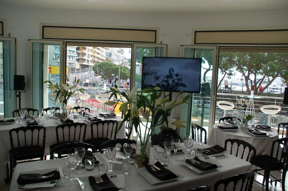 Fabulous hospitality with a stunning view over the first corner of the Monaco Grand Prix Circuit. Grand Prix Deluxe offers all F1 fans the opportunity tspitality on the 2nd floor of the Ermanno Palace. Various packages are available including Saturday and Sunday, Saturday only or Sunday only. All our tickets include champagne breakfast, canapés, seated gourmet lunch, official race program, souvenir gift, open bar all day including champagne,  hostesses and official race ticket with lanyard. Grand Prix Deluxe can also arrange hotels, jets, helicopter transfers, and access to the top night spots in Monaco including Amber Lounge, Billionaire, Buddha Bar. Grand Prix Deluxe's concierge service can arrange tickets for all the major attractions whilst you are visiting the Monaco nd Prix 2015.