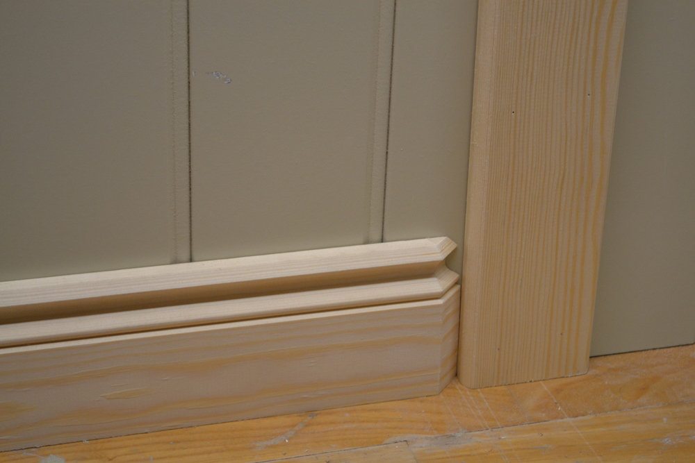 Skirting board return