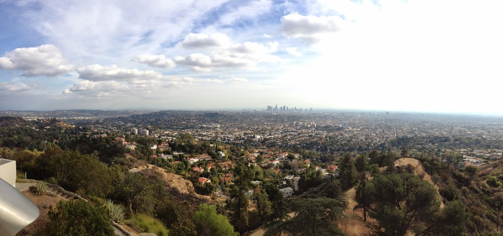 I took this photo with my limited photography skills, I like it. It was from up at the Griffith Observatory.