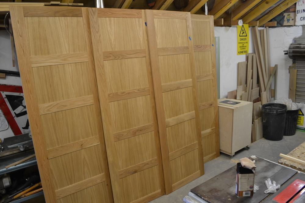 Oak Wardrobe Doors — Caleb & Taylor Ltd (Neil McKinlay)
