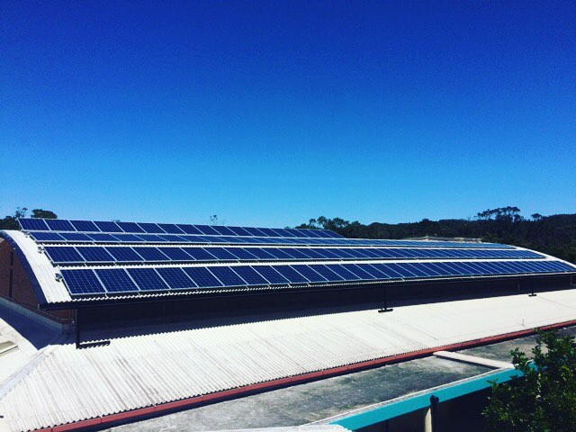 Byron Bay High School is today powered by the sun after MTS Solar supplied and installed their new 33 kW power optimised solar system. Thanks to our suppliers #haymansbyronbay #haymansbyron and everyone at #byronhighschool for making it easy.