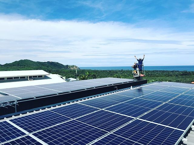 Merry Xmas everyone. What a year we have had, installing 1.4 megawatts of solar power systems across the northern rivers and qld (that's over 5000 panels) . Thanks to my amazing team of installers @mtssolar . Yew! .... and yes that's the Byron Bay lighthouse behind us ... EPIC