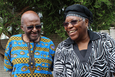 Archbishop Desmond and Mrs Leah Tutu