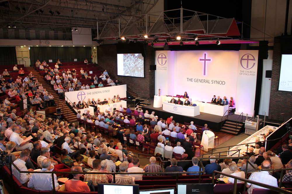 Church of England General Synod in session (Photo: Archbishops' Council)