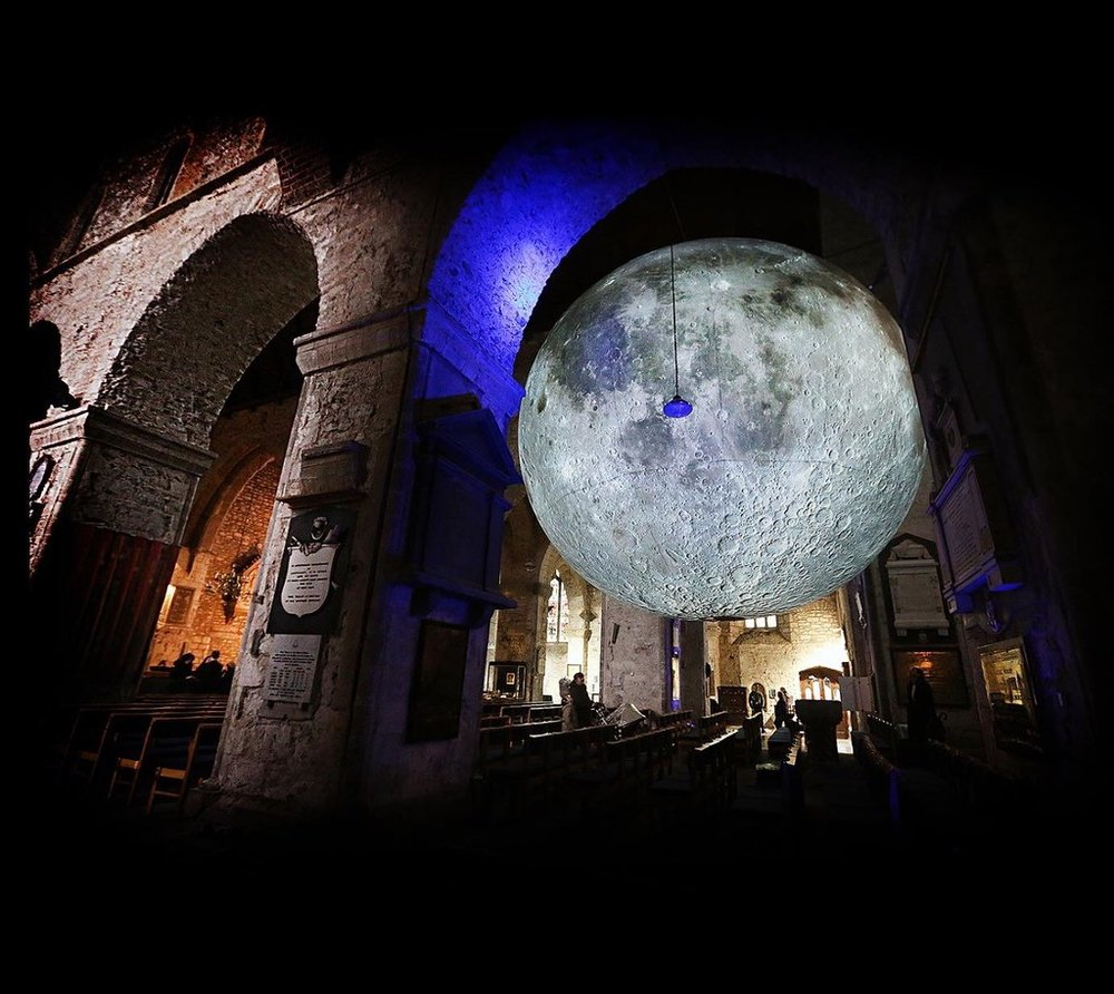 Museum of the Moon in Limerick. [Photo: Deirdre Power]