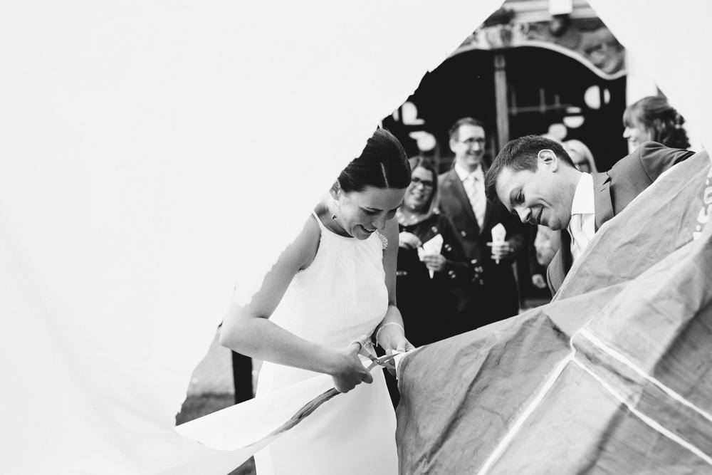 Als Hochzeitsfotografin in Jork, in der nähe von Hamburg