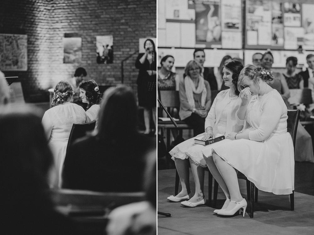 Als Hochzeitsfotografin bei einer gleichgeschlechtlichen Hochzeit in der Lutherkirche in Köln