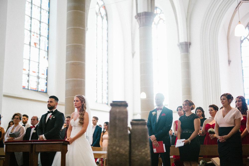 Als Hochzeitsfotograf bei einer katholischen Trauung in Wuppertal