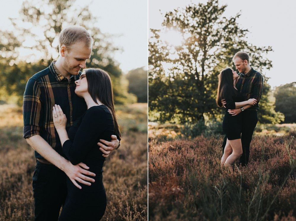 Hochzeitsfotograf Köln, Bonn, Düsseldorf - Romantische Paarfotos in der Wahner Heide bei Köln