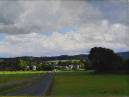 """Maybole Field, Summer"""