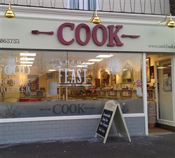 One of more than 80 Cook stores across the UK